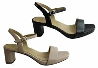 NEW NATURALIZER IVY WOMENS FASHION LEATHER MID HEEL DRESS HEELS