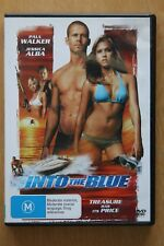Into The Blue (DVD, 2006)   Preowned (D218)