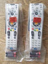 LOT OF 2 DIRECTV RC66RX UNIVERSAL REMOTE HD/DVR IR/RF 2AA BATTS REPLACES RC65RX