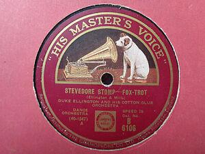 DUKE ELLINGTON - Stevedore Stomp / Sweet Jazz Of Mine 78 rpm disc