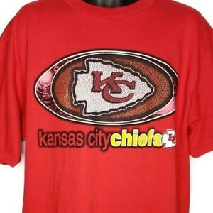 Kansas City Chiefs T Shirt Vintage 90s O'Aces Bar & Grill Las Vegas Size XL