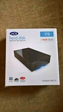 LaCie Hard Disk 1TB USB 2.0 External Hard Drive designed by Neil Poulton 301304