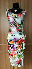 """New With Tags Phase Eight """"Fernanda"""" Silky Jersey Dress - Size 16"""