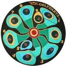 BULLS GOLF COURSE DARTBOARD Steel Tip Bristle Dart Board Fun Practise