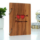16 Sheets DIY Wooden Cover Decoration Scrapbooking Photo Album 6 inch