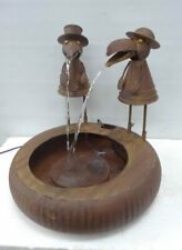 Water Fountain with pump for your backyard with artful retreatment