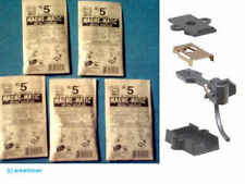 10 Packets Kadee HO #5 Couplers Metal Medium Centerset Shank Inc Post