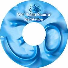 OM Shanti Mantra Meditation CD Relaxation Healing Stress Relief  Peace Calming