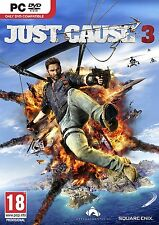 Just Cause 3 (PC-DVD) ROCKET LAUNCHER EDITION BRAND NEW SEALED