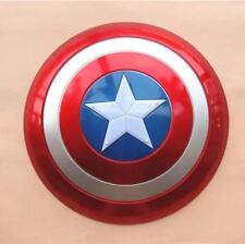 Captain America Shield Flash Light Voice Kids Gift Party Cosplay Toy 32cm