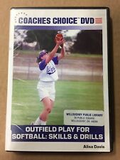 Outfield Play for Softball: Skills and Drills (DVD, 2007) FREE Shipping