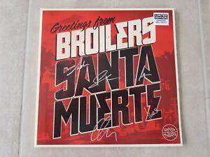 Broilers Santa Muerte Ltd. Grey Vinyl - only 700 copies worldwide - handsigniert