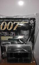 James bond car collection ISSUE 123 *PLYMOUTH SAVOY & MAGAZINE.V RARE BRAND NEW