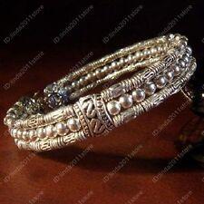 Beautiful selling fashion jewelry Tibet Tibetan silver ladies bracelet NO.37