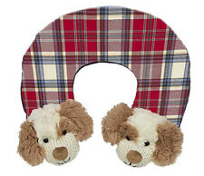 Maison Chic Max the Puppy Neck Travel Pillow for infants/young children Nwt