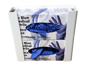Disposable Glove Dispenser -Hold 2 Boxes Wall Mounted or Self-Adhesive