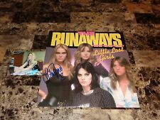 The Runaways Rare Hand Signed Vinyl LP Record Lita Ford Little Lost Girls PHOTO