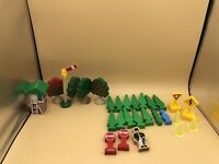 28 - THOMAS & FRIENDS BRIO WOODEN TRAIN UNBRANDED TREES PEOPLE ACCESSORIES SIGNS