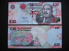 BAHAMAS  20 Dollars 2006  (P74)  UNC