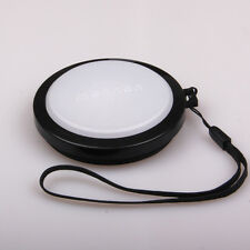 58mm White Balance WB Lens Cap for Canon T3i T4i 550D 600D 650D 1100D 60D 18-55