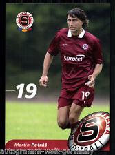 Martin Petras Autogrammkarte AC Sparta Prag 2004-05 + A 213197 OU