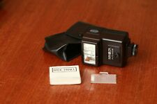 Minolta Auto 200x flash - with case and wide angle panel