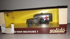 DODGE WC 54 AMBULANCE N°6043 COLLECTION MILITARE SOLIDO SCALA 1:43