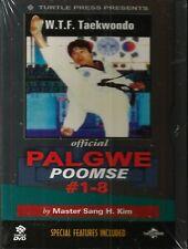 WTF TAEKWONDO Official PALGWE POOMSE # 1-8 DVD Master Sang H Kim NEW Martial Art