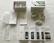 Apple iPhone 4s White 16GB - A1387 Box + Genuine Apple Accessories & Q.S Manual