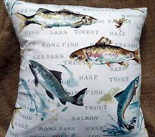 "Prestigious Fabric 'Fly Fishing' 16"" Cushion Cover"