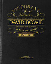 Personalised David Bowie Pictorial Edition Newspaper Book Christmas Gift Box