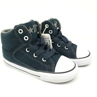 Converse Chuck Taylor All Star Toddler Size 8 Black High Street Sneakers Shoes