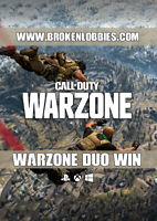 Call of Duty: Warzone Win Warzone Duo Win Bot Lobby PS4/XBX/PC/PS5