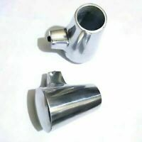 Vespa Alloy Stand Feet Shoe Pair Px,Pe,Pk,T5, Classic & Cosa 22 Mm Polished