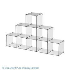 Acrylic Cube Display Set 5x3 Stepped - Retail Displays