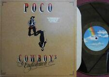 Poco ORIG US Promo LP Cowboy's & Englishmen VG+ '82 Country Rock