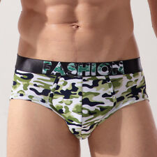 "Silk-like two-skin ""FASHION"" Camouflage Men's Underwear/Bikini/Brief, Size (M)"