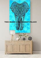 Indian Elephant Mandala Hippie Wall Hanging Decor Tapestry Gypsy Yoga Mat Poster