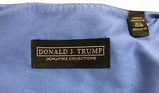 Donald J Trump Signature Collection Dress Shirt 16 1/2 34/35 French Cuff Blue