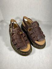Dr. Martens Men's  Arc Brown Sandals # 8092 Size 12 Uk11 #24834201 (AA11)