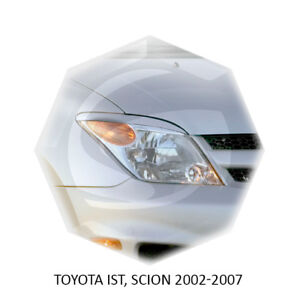 For Scion XA Eyebrows Eyelids Eye Line Toyota IST Primed 2002-2007 2 pcs