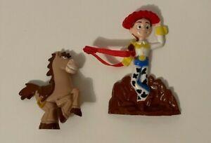 Vintage General Mills Cereal Premium Toy Story 2 Jessie & Bullseye Xmas Ornament