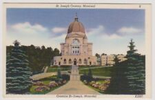 Canada postcard - St Joseph Oratory, Montreal
