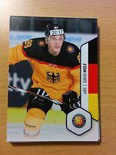 DEL2 Playercard 16/17 #317 David Wolf DEL Adler Mannheim MERC DEB