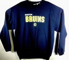VTG Boston Bruins CCM sweatshirt NHL Center Ice Authentic size L Canada Large