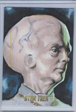 Star Trek TOS 50th Anniversary sketch card The Keeper by Silva scarce
