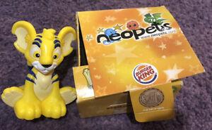 Burger King Neopets Kougra Plastic Hard Toy 2008 Hungry Jacks