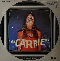 """Carrie - Brian De Palma - Laserdisc 12 """" Ld (O115)"""