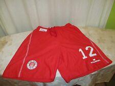 FC St.Pauli DoYou Football Matchworn Trikot Hose/Short 2012/13 + Nr.12 Gr.S- M
