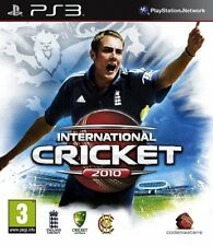 International Cricket 2010 (PS3) Region Free Disc Mint Excellent Condition J1L